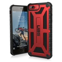Чехол Urban Armor Gear (UAG) Navigator Case for iPhone 7/8 Black Red