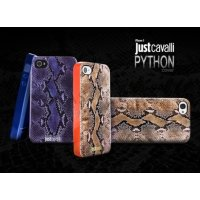 Чехол для iPhone 4/4S Just Cavalli Питон