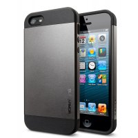 Чехол SGP Case Slim Armor Metal Series для iPhone 4/4S