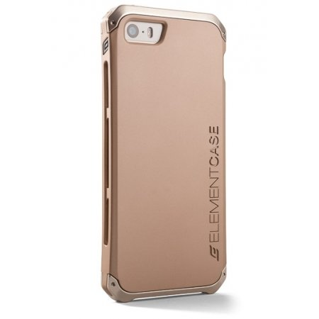 Фото - Element Case Solace iPhone 5/5s Gold