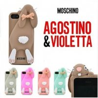Чехол Moschino Rabbit for iPhone 5|5S