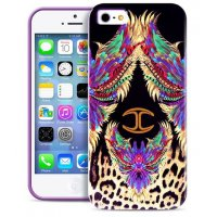Чехол для iPhone 5/5S Justcavalli Wings Purple