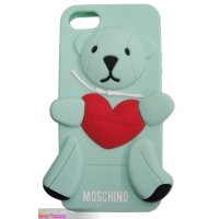Чехол Moschino Bear 3D Silicone for iPhone 5|5S