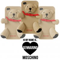 Чехол Moschino Gennarino Bear iPhone 4/4S