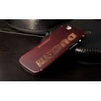 Бампер из натурального дерева от Deff Wood Ducati for iPhone 6