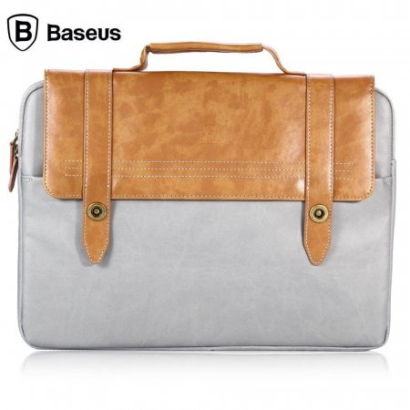 Фото - Сумка для MacBook от Baseus Series Drop Resistant Brown