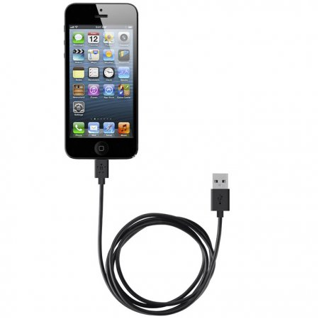 Фото - USB кабель Belkin iPhone 5/5S/5C/6/6 Plus with 8-Pin Lightning