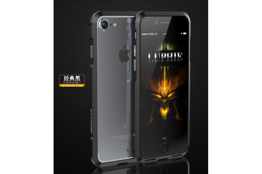 Бампер для iPhone 7/8 Plus Luphie Ultra Black