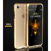 Бампер для iPhone 7/8 Plus Luphie Ultra Gold