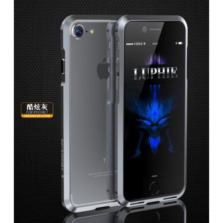 Фото - Бампер для iPhone 7 Luphie Ultra Grey