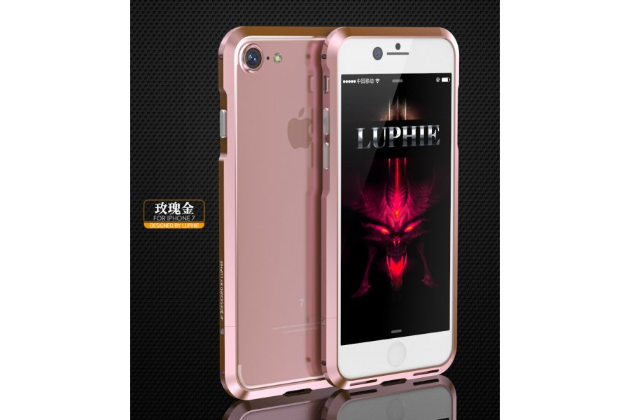Бампер для iPhone 7/8 Luphie Ultra Rose Gold