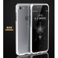 Бампер для iPhone 7 Luphie Ultra Silver