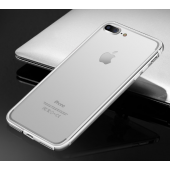 Бампер Silicone-Aluminium Silver для iPhone 7/8 Plus