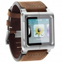 Чехол LunaTik Chicago Collection for iPod nano 6gen Brown