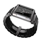 Чехол LunaTik Lynk iPod Nano 6gen Watch Band Black