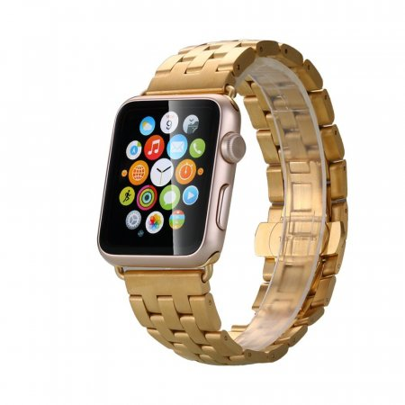 Фото - Браслет Steel Watch Band Dark Gold For Apple Watch 38mm/ 42mm