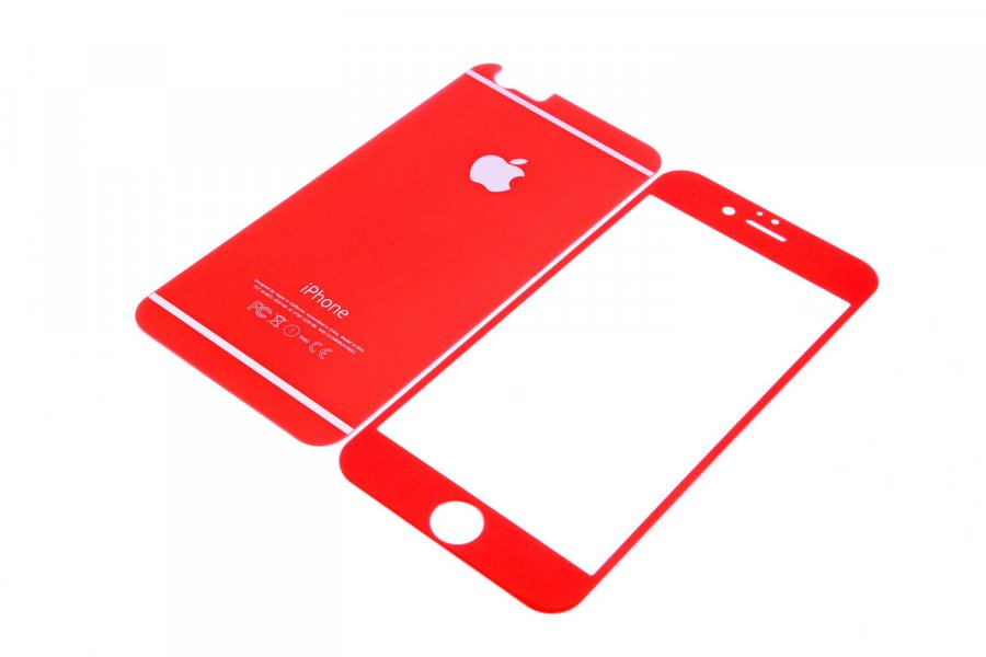 Cтекла для iPhone 6/6s Red