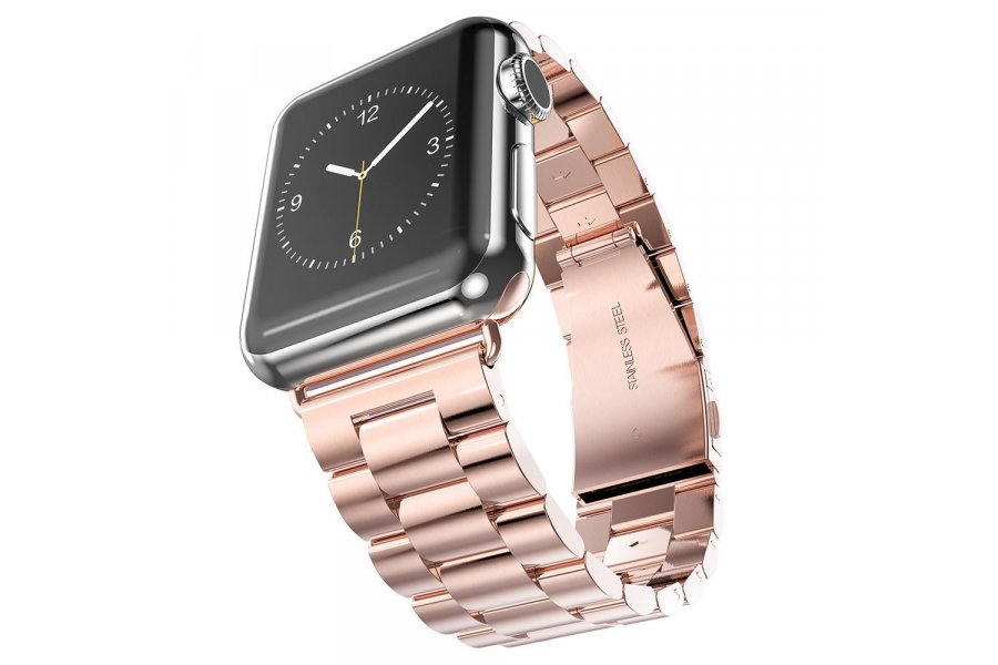 Браслет Steel Watch Band Rose Gold For Apple Watch 38mm/ 42mm