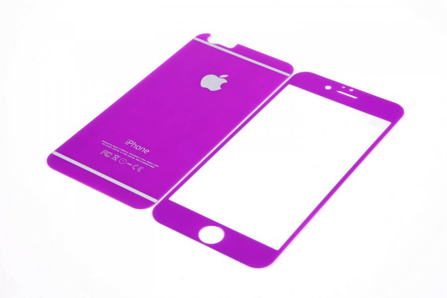 Cтекла для iPhone 6/6s Purple