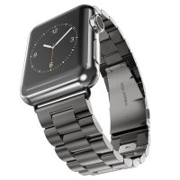 Браслет Steel Watch Band Black For Apple Watch 38mm/ 42mm