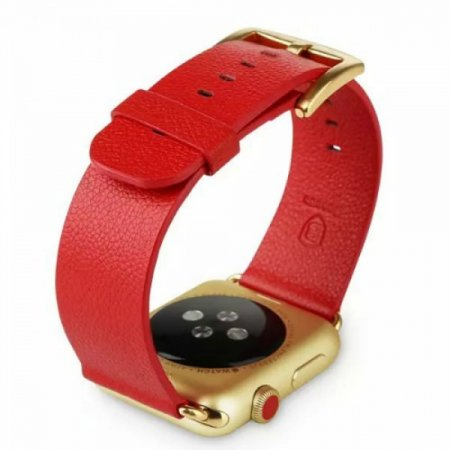Фото - Ремешок Baseus Series Men watchband 42mm For Apple Watch Red