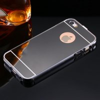 Чехол глянец Mirror Black case for iPhone 5.5s
