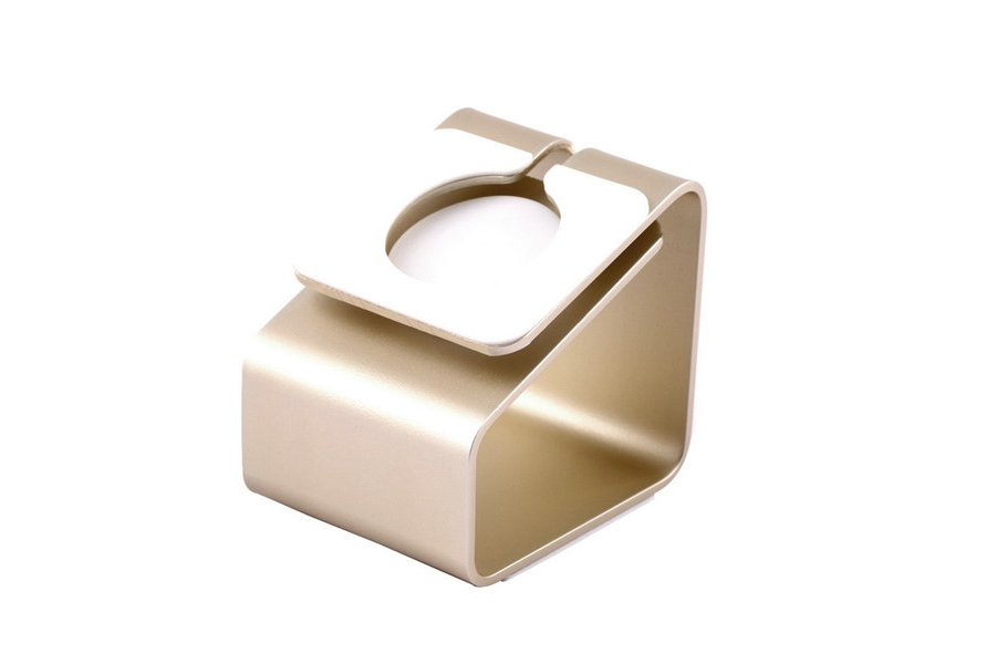 Док-станция Metal Stand Apple Watch Gold