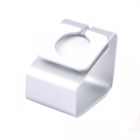 Фото - Док-станция Metal Stand Apple Watch White