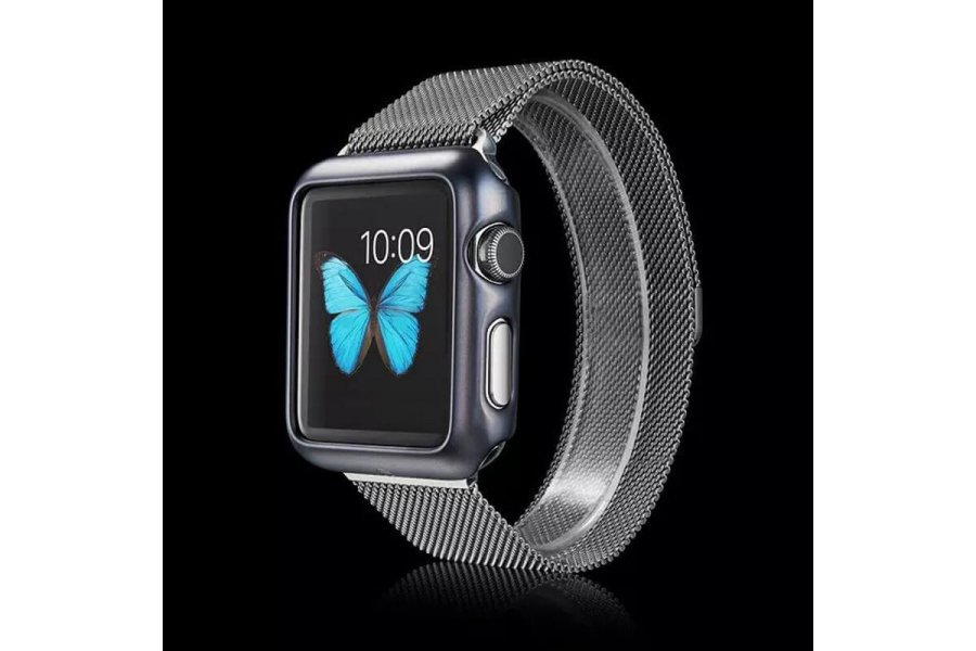 Накладка Matte Grey Aluminum Apple Watch 38/42mm