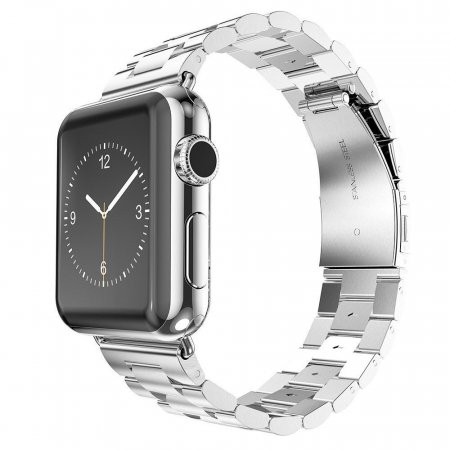 Фото - Браслет Steel Watch Band Silver For Apple Watch 38mm/ 42mm