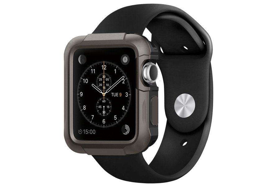 Чехол Armor для Apple iWatch 38/42 мм Black