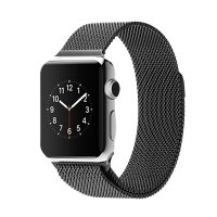 Ремешок для Apple Watch 38/42mm with Milanese Loop (magnetic) Black