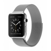 Apple Watch 38/42mm with Milanese Loop (magnetic) Silver