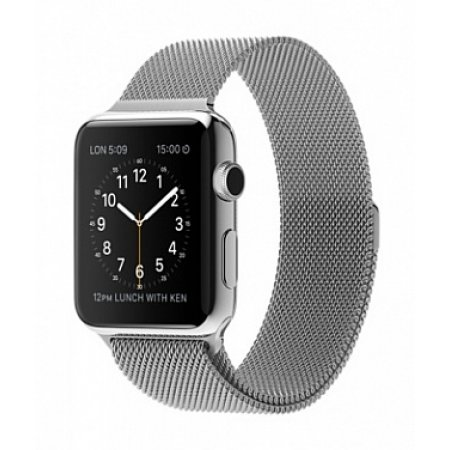 Фото - Apple Watch 38/42mm with Milanese Loop (magnetic) Silver
