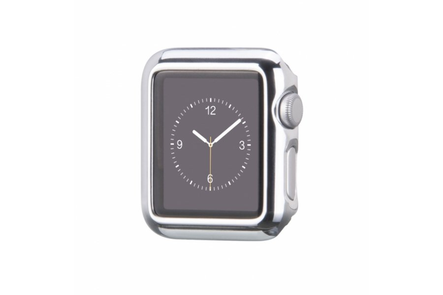 Чехол HOCO Defender Series Plating Silver для Apple Watch 38/42mm
