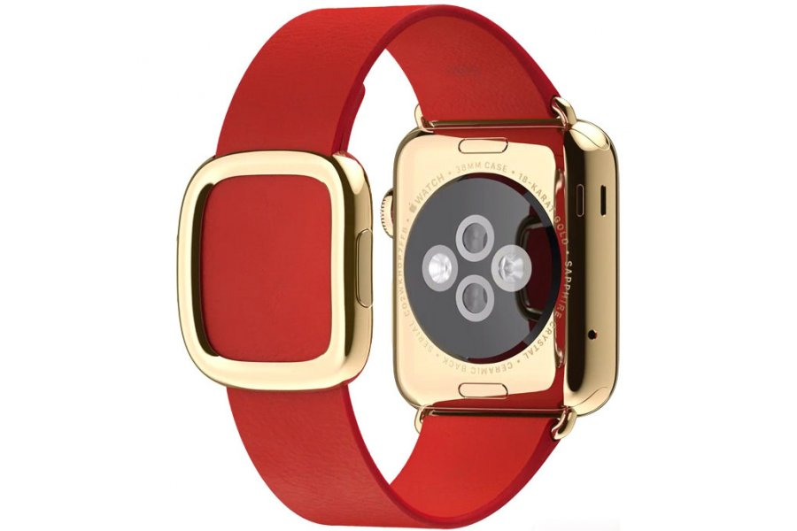 Ремешок Red Modern Buckle Hoco для Apple Watch 38/42mm