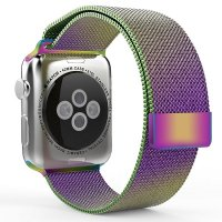 Ремешок для Apple Watch 38/42mm with Milanese Loop (magnetic) Colorful
