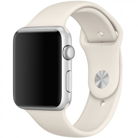 Фото - Ремешок Silicone Antique White Band for Apple Watch 38/42mm