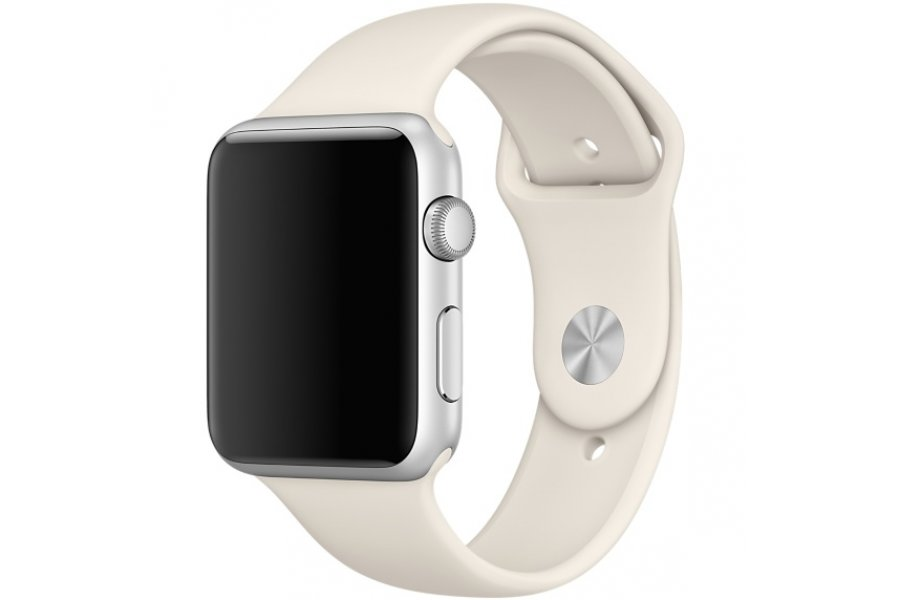 Ремешок Silicone Antique White Band for Apple Watch 38/42mm