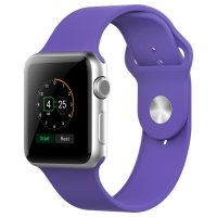 Ремешок Silicone Purple Sport Band for Apple Watch 38/42mm