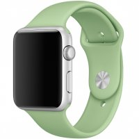 Ремешок Silicone Mint Band for Apple Watch 38/42mm