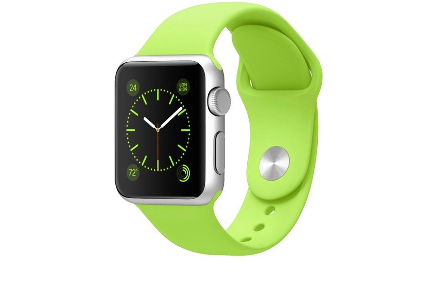 Ремешок Green Sport Band for Apple Watch 38/42mm