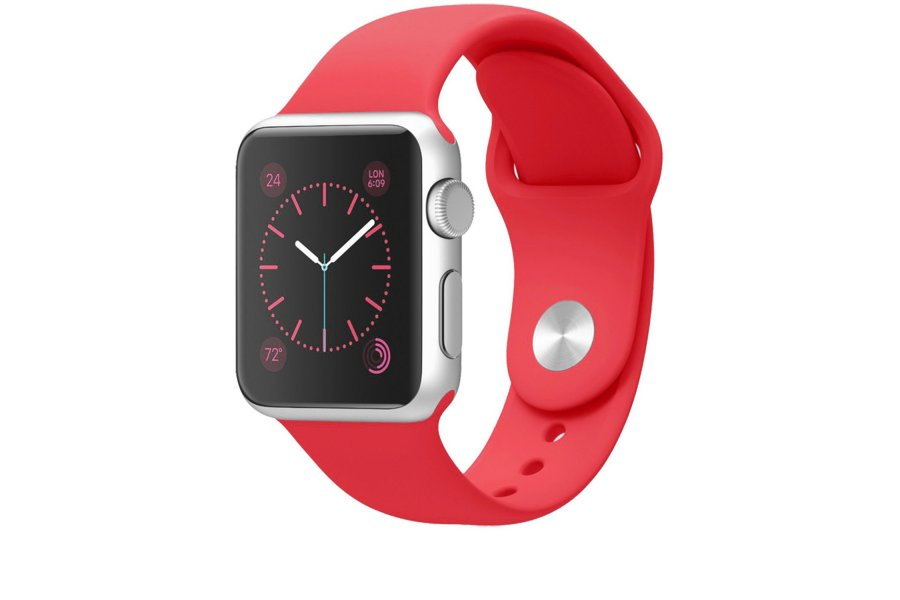Ремешок Red Sport Band for Apple Watch 38/42mm