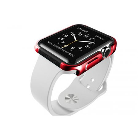 Фото - Накладка X-Doria Defense Edge Aluminum Apple Watch 42mm (Red)