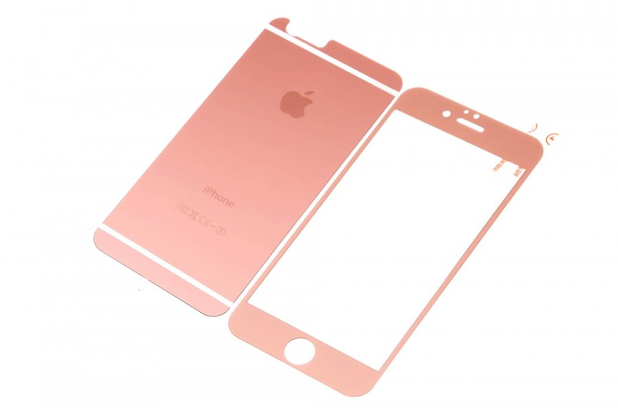 Cтекла для iPhone 6/6s Rose Gold