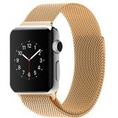 Apple Watch 38/42mm with Milanese Loop (magnetic) Gold