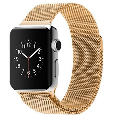 Фото - Apple Watch 38/42mm with Milanese Loop (magnetic) Gold