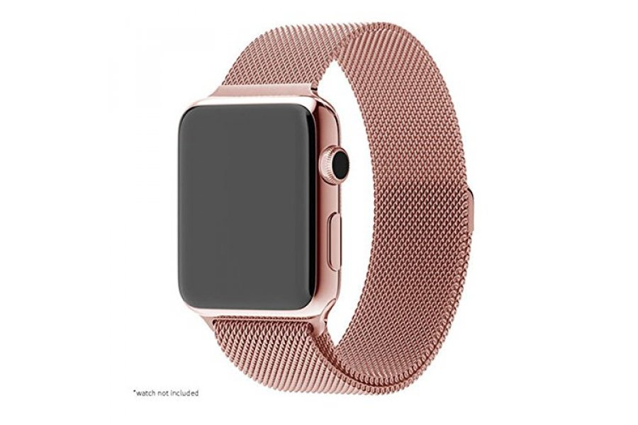 Apple Watch 38/42mm with Milanese Loop (magnetic) Rose Gold