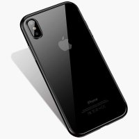 Чехол Silicone Case CAFELE iPhone XS Max Black