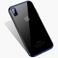 Чехол Silicone Case CAFELE iPhone XS Max Blue